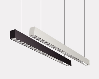 Xline Plus Suspension Series: Continuous Linear LED Luminaries