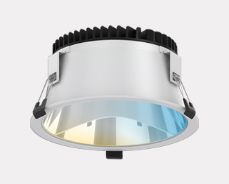 Milo Tunable White Series: Recessed Downlight 300-100mm cutout